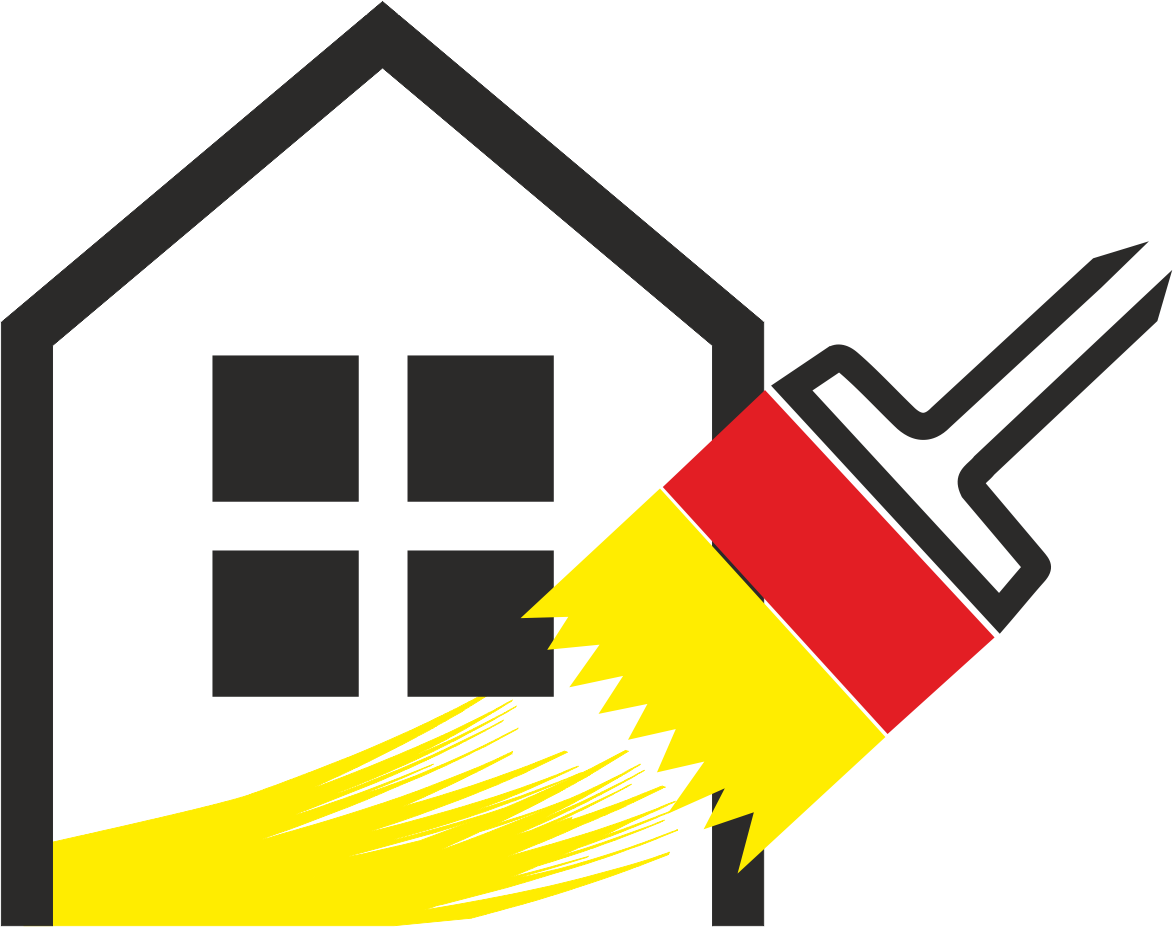 malerfirma byggefirma logo