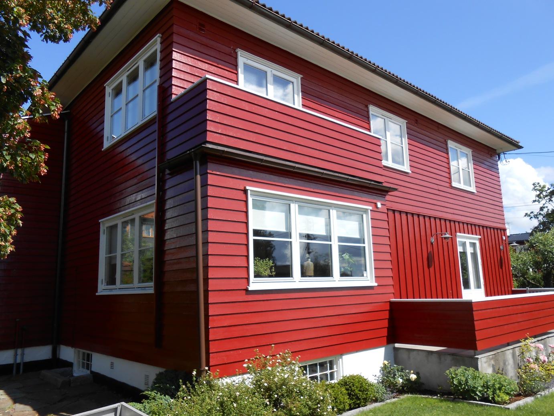 Fasadevask Maling i Oslo
